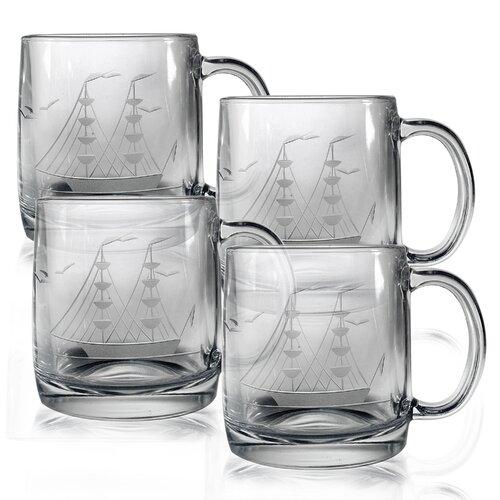 Susquehanna Glass Clipper Ship 12 oz. Coffee Mug