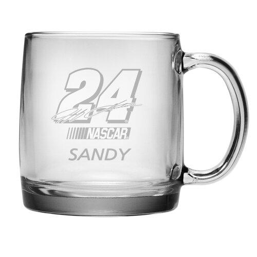 Susquehanna Glass Nascar Jeff Gordon 13 oz. Coffee Mug with Personalization