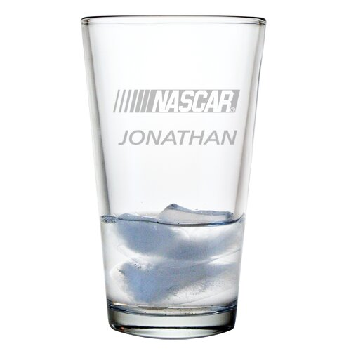 Susquehanna Glass Individual 16 oz. Mixing Glass, Nascar Logo with personalization