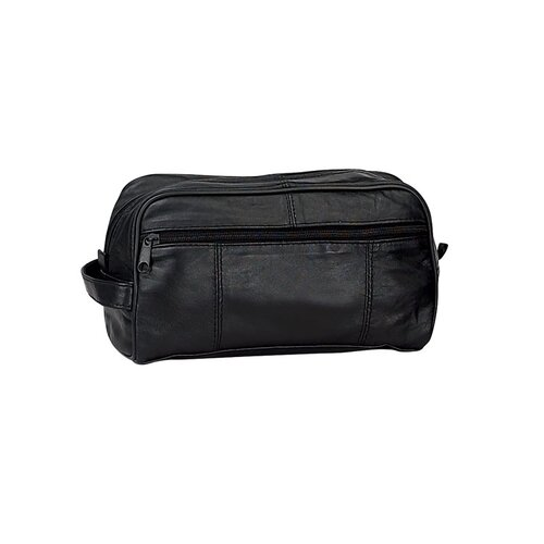 Preferred Nation Leather Toiletry Kit