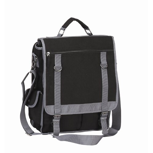 Preferred Nation Expresso Vertical Laptop Briefcase