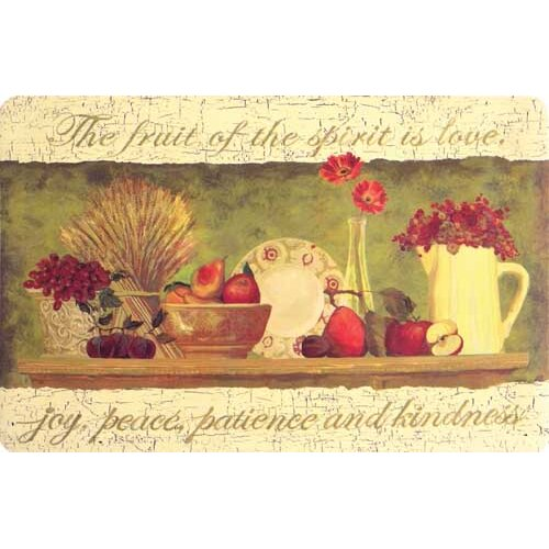 Cushion Comfort Fruitful Journey Mat