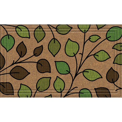 BuyMATS Inc. Naturelles Summer Leaves Doormat