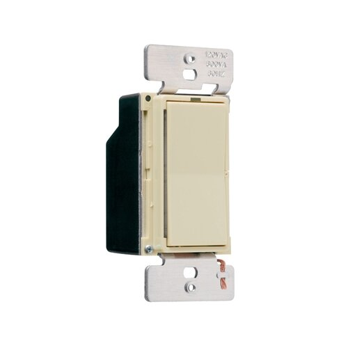 Legrand Leandro 600W Decorator Single Pole/Three Way Dimmer in Ivory
