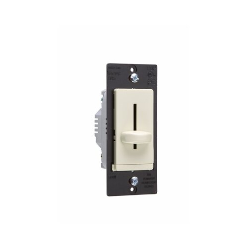 Legrand TradeMaster 600W Decorator Single Pole Slide Dimmer with Housing in Ivory