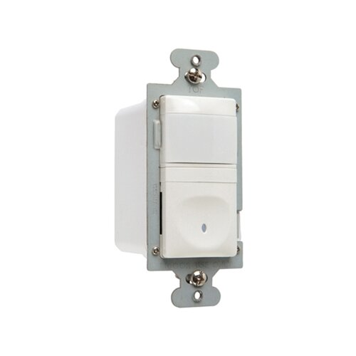 Legrand 600W Vacancy Decorator Sensor Single Pole in White