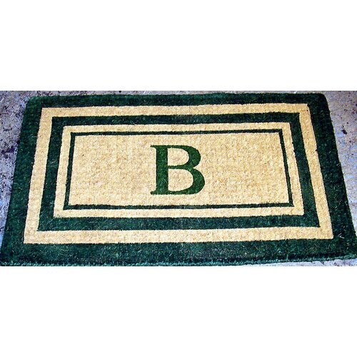 Geo Crafts, Inc Imperial Triple Monogram Golden Doormat