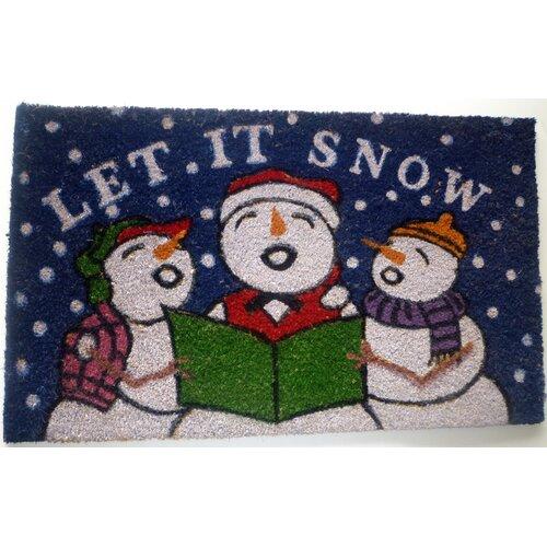 Geo Crafts, Inc Snowmen Mat