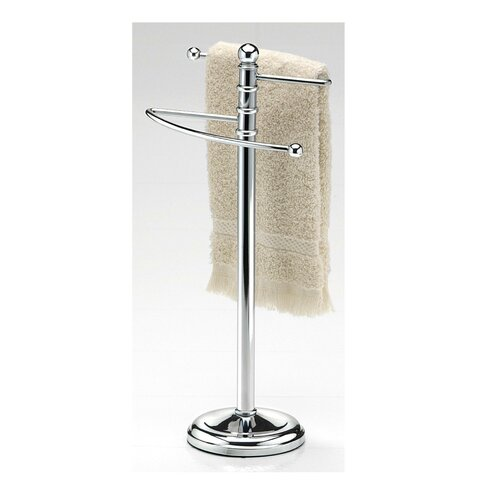 Taymor Free Standing Waterfall Towel Stand Amp Reviews Wayfair