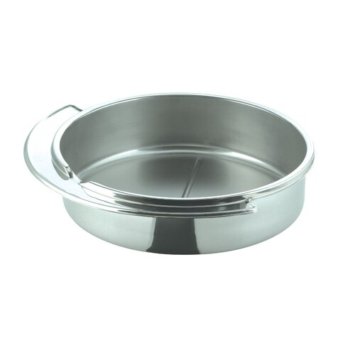 Large Round Stainless Steel Dripless Water Pan