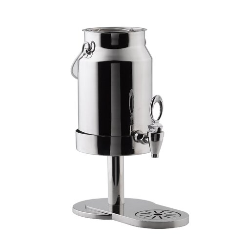 SMART Buffet Ware 1.3 Gallon Stainless Steel Milk Dispenser
