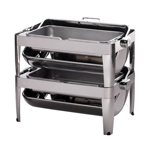 SMART Buffet Ware IBIS Stackable Oblong Chafing Dish