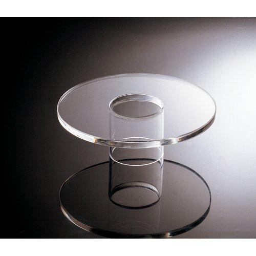 SMART Buffet Ware Acrylic Round Platform Dish Stand