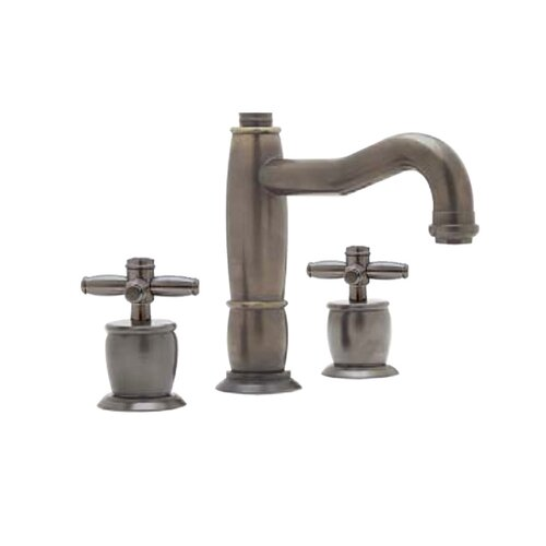 Gotham Double Handle Widespread Bathroom Faucet with Pop-Up Waste and Cross Handle