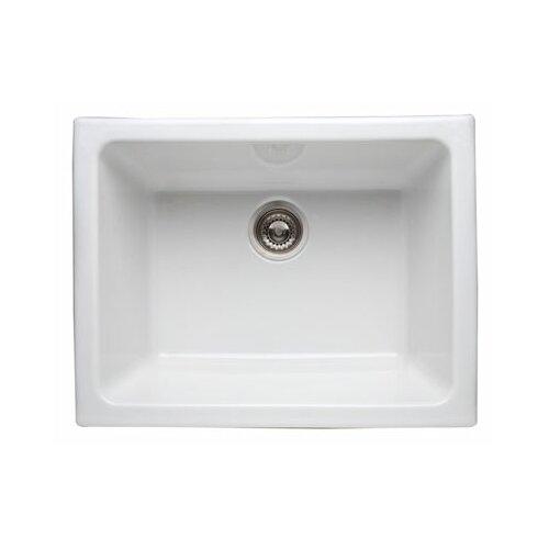 Single Bowl Undermount Fireclay Kitchen Sink