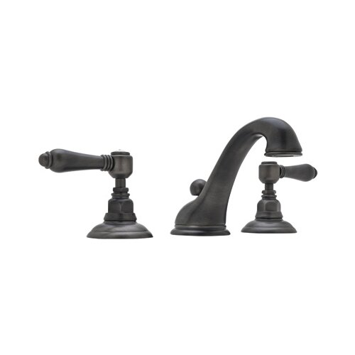 Rohl A1408LM-2 Country Bath Low Lead Widespread Bathroom Faucet with Pop-Up Drain and Metal ...