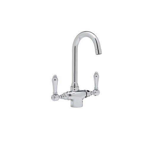 Rohl Country Kitchen Two Handle Single Hole Bar Mixer Faucet