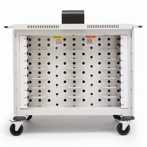 Bretford Manufacturing Inc 20-Compartment Basic Intelligent Notebook Storage Cart