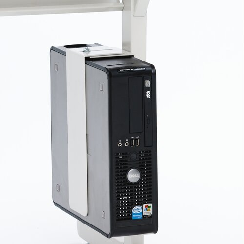 Bretford Manufacturing Inc Slim CPU Holder for Computer Table
