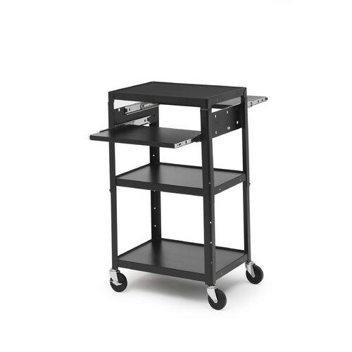 Bretford Manufacturing Inc Basic Adjustable Multimedia Cart