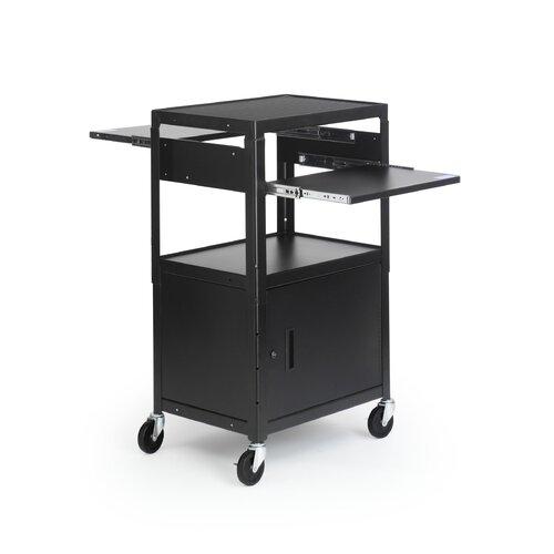 Bretford Manufacturing Inc Adjustable Multimedia Cab Cart