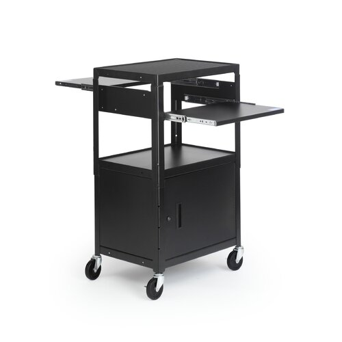 Bretford Manufacturing Inc Adjustable Multimedia Cab Cart