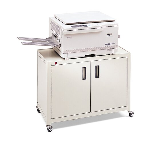Bretford Manufacturing Inc Printer Cabinet with Adjustable Interior Shelf