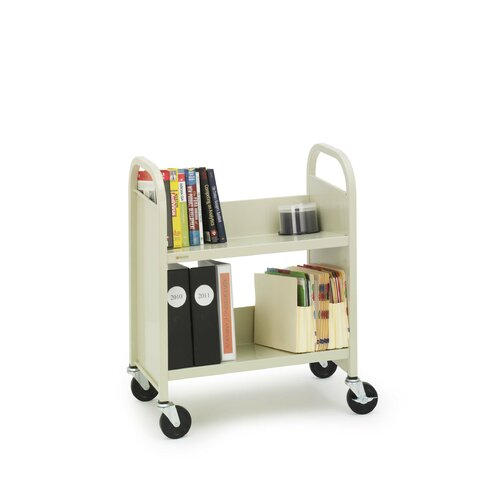Bretford Manufacturing Inc Two Shelf Booktruck