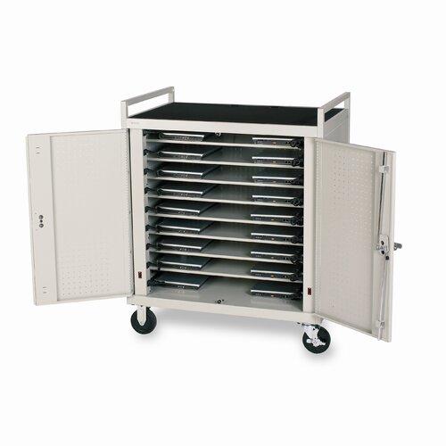 Bretford Manufacturing Inc 18-Compartment Laptop Cart