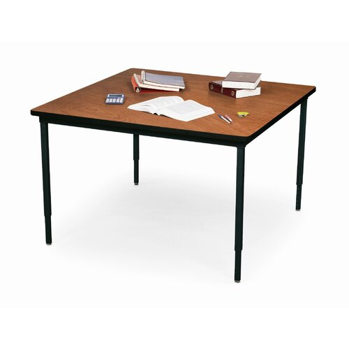 "Bretford Manufacturing Inc 48"" Wide Square Quattro Work and Utility Table"