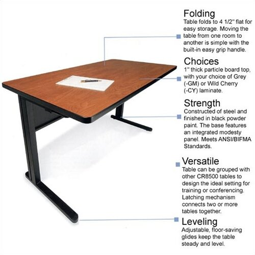 Bretford Manufacturing Inc Training Table