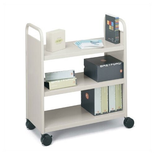 Bretford Manufacturing Inc Mobile Utility Truck with Three Flat Shelves