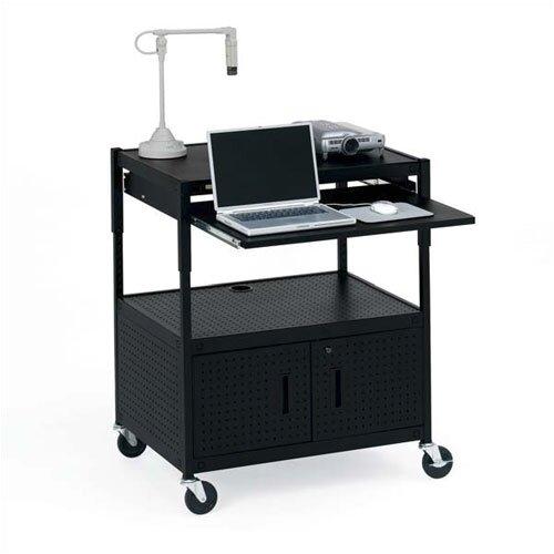 Bretford Manufacturing Inc Height Adjustable Multimedia Presentation Cart