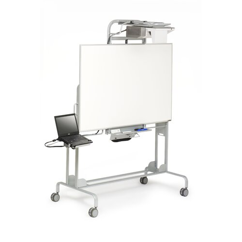 Bretford Manufacturing Inc EDU 2.0 Mobile Interactive Whiteboard for Dell Short Throw Projector