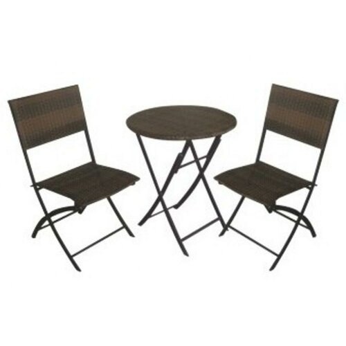 DC America La Jolla Folding Dining Chair, Set of 2