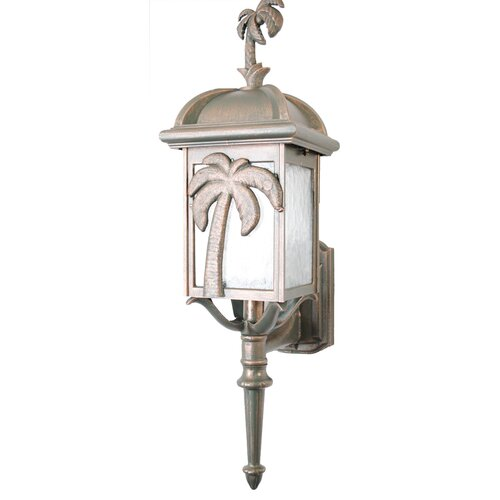 Melissa Lighting Americana Palm Tree Series Wall Lantern