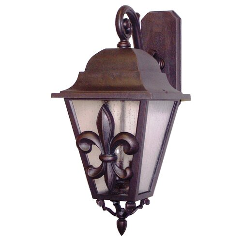 Melissa Lighting Americana Fleur De Lis Series Wall Lantern