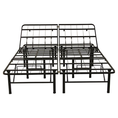 Classic Brands Adjustable Platform Metal Bed Frame