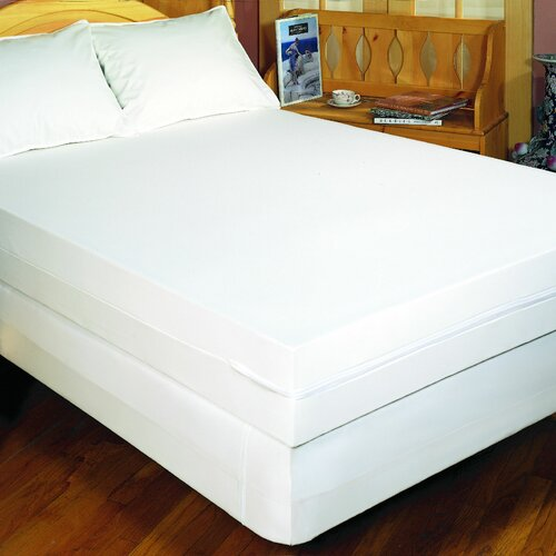 Bargoose Home Textiles Bedbug Solution Zippered Mattress Cover
