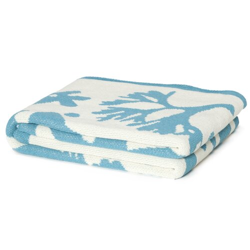 Eco Designer Seascape Throw Blanket