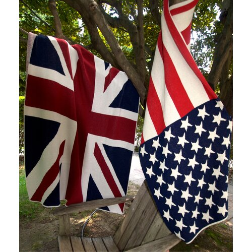 In2Green USA Flag Cotton Throw