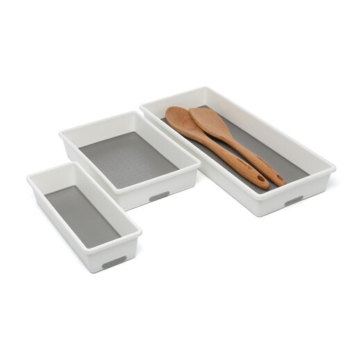 Made Smart Housewares Three Piece Organizing Tray