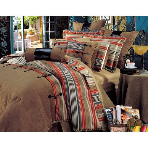 Siesta 10 Piece King Comforter Set