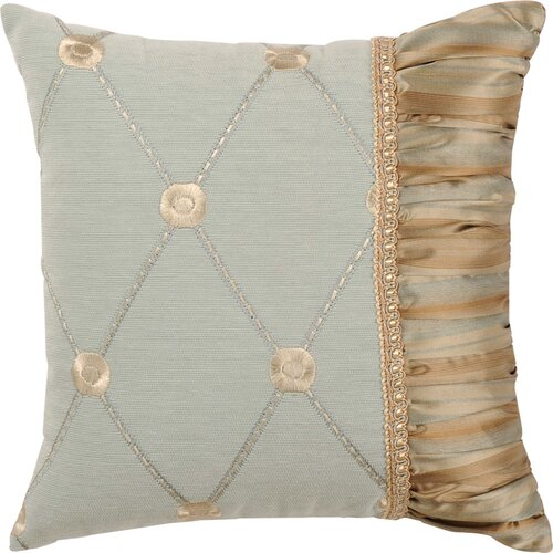 Jennifer Taylor Savannah Synthetic Pillow with Braid