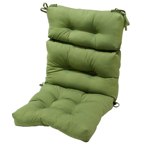Outdoor High Back Chair Cushion
