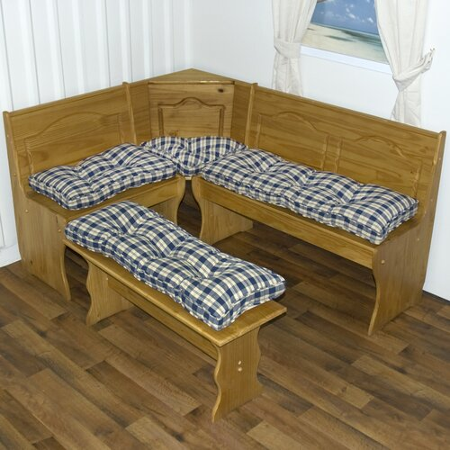 Greendale Home Fashions Nook Applegate Plaid Cushion Set