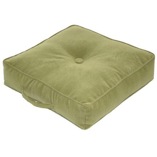 Greendale Home Fashions Omaha / Amigo Fabric Square Floor Nylon Pillow