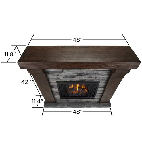 Real Flame Avondale Cast Mantel Electric Fireplace