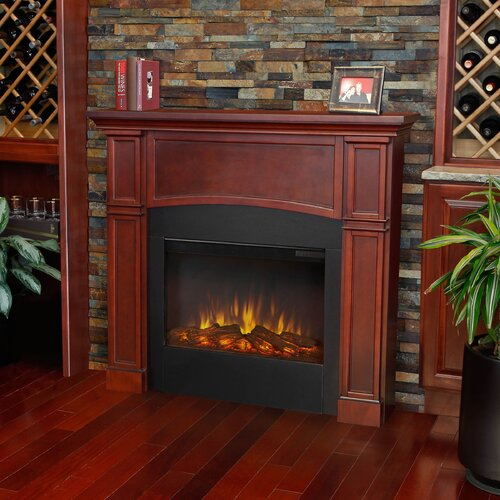 Real Flame Bradford Slim Electric Fireplace