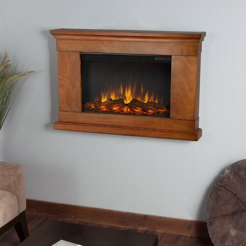 Real Flame Slim Jackson Wall Mounted Electric Fireplace
